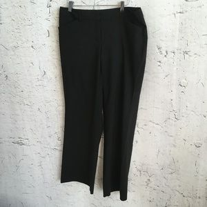 EXPRESS BLACK EDITOR TROUSERS  10S